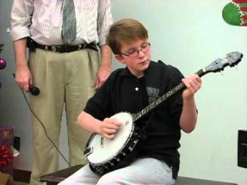 Jingle Bells on banjo