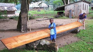Missionary Sawmills in Action in Africa - Wood-Mizer