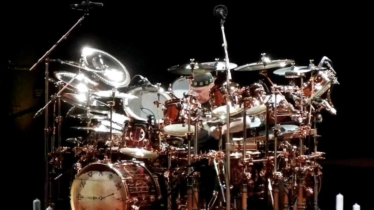 Rush Neil Peart Drum Solo Clockwork Angels Tour 9 15