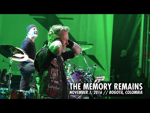 Metallica: The Memory Remains (MetOnTour - Bogotá, Colombia - 2016)