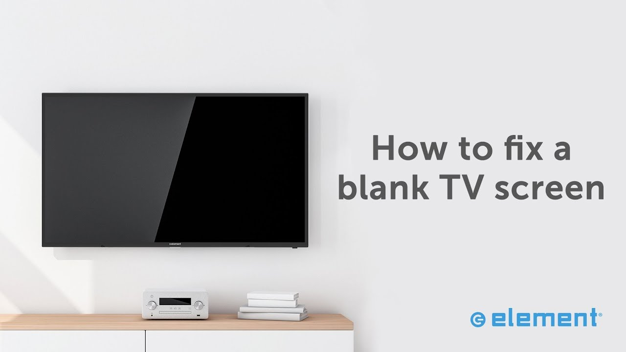 Fixing A Blue Or Blank Screen On Your Tv Youtube