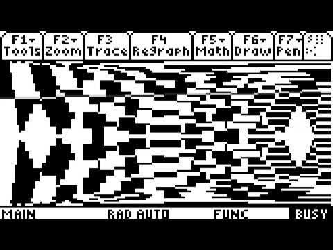 Lines - A TI-89 Calculator Program