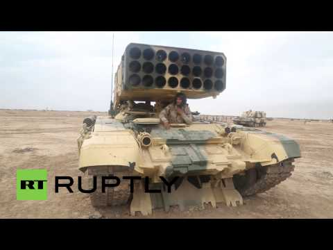 Iraq: See the EXPLOSIVE Russian firepower helping Iraqi forces fight IS