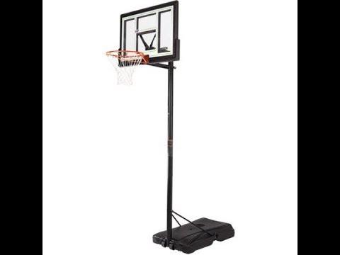 Lifetime 46 inch Intermediate Basketball Backboard from Walmart How-to