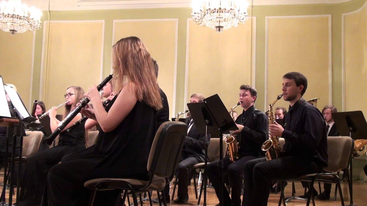 00615 JVLMA Pūtēju orķestra koncerts, 25.10 2015 JVLMA Lielā zālē
