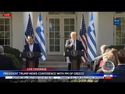 LIVE: President TRUMP Press Conference with Prime Minister of Greece 10/17/17