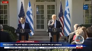 LIVE NOW: President TRUMP Press Conference with Prime Minister of Greece LIVE STREAM 10/17/17