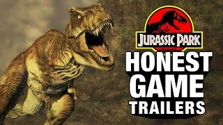 JURASSIC PARK GAMES Feat. Jeff Goldblum (Honest Game Trailers)