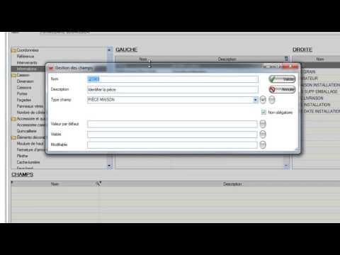 Cienapps - Formulaire dynamique - ERP/MRP - Logiciel d'ébénisterie