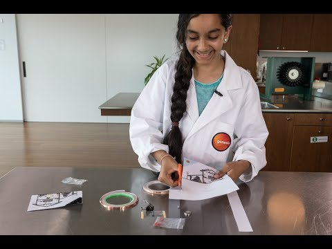 School-gen   How to make a paper circuit house
