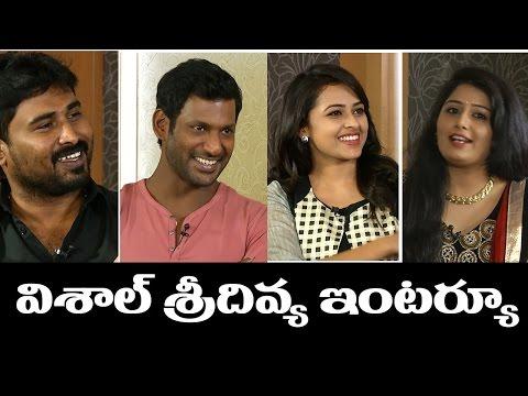Vishal and Sri Divya Hilarious Interview | Rayudu | Celebrities Interviews | Indiaglitz Telugu