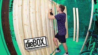Die BOX Wand ist fertig! 😯