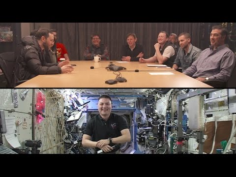 Weta Workshop talks to astronaut Kjell Lindgren