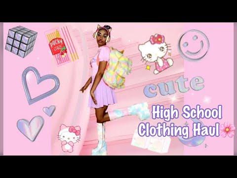 fairy-kei-🌸-back-to-school-shopping-haul