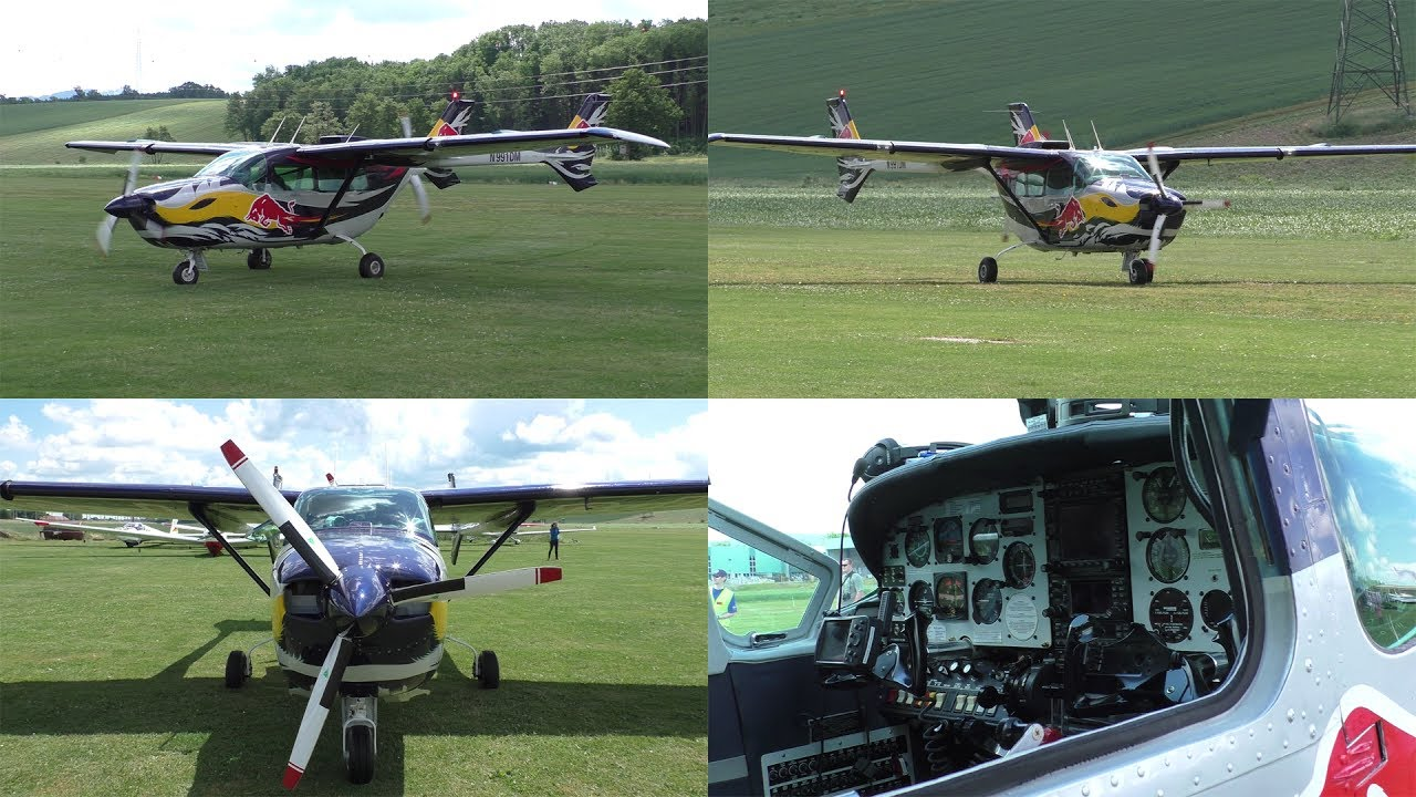 The Flying Bulls Cessna 337 Skymaster Push Pull Landing