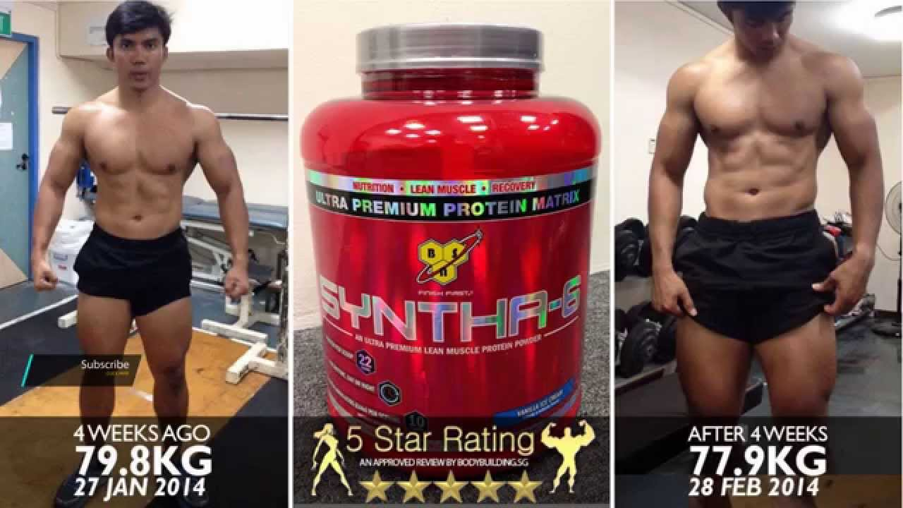 BSN Syntha 6 - YouTube