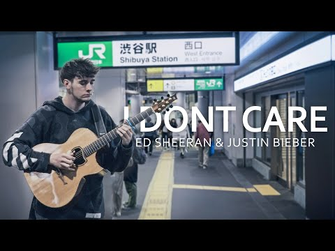 Ed Sheeran & Justin Bieber - I Don&39;t Care - Fingerstyle Guitar Cover
