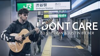 Ed Sheeran & Justin Bieber - I Don't Care - Fingerstyle Guitar Cover