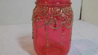 How To Make Beautiful Moroccan Mason Jar Lanterns - DIY Home Tutorial - Guidecentral