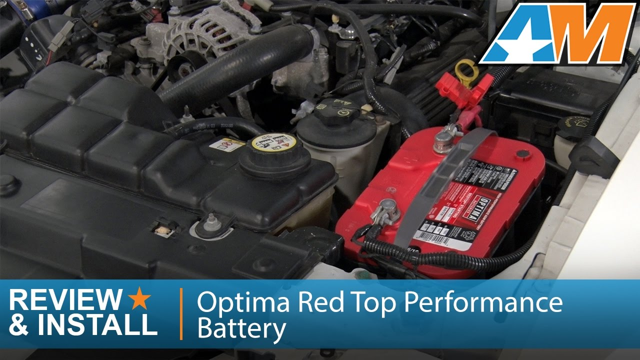 1979 2010 Mustang Optima Red Top Performance Battery Review Install