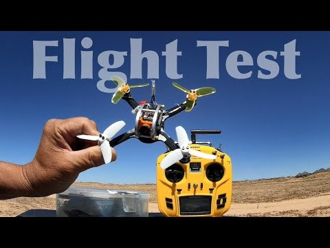 KINGKONG 136mm FPV EGG RC Racing Drone Flight Test