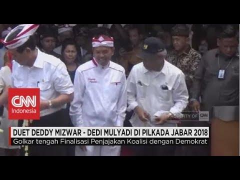 Duet Deddy Mizwar - Dedi Mulyadi di Pilkada Jabar 2018