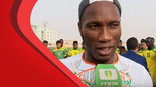 Déclaration de Didier Drogba et de Geremi Njitap
