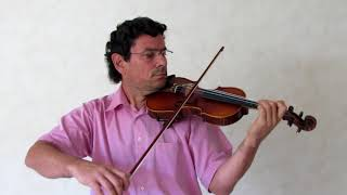 Volume 1 lesson 059 / 133 - Lady mum in A - Learning french Violin