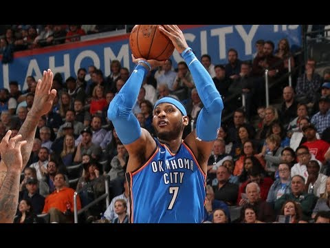 Carmelo Anthony Passes Jerry West & Becomes The #20 All Time Scorer In NBA History