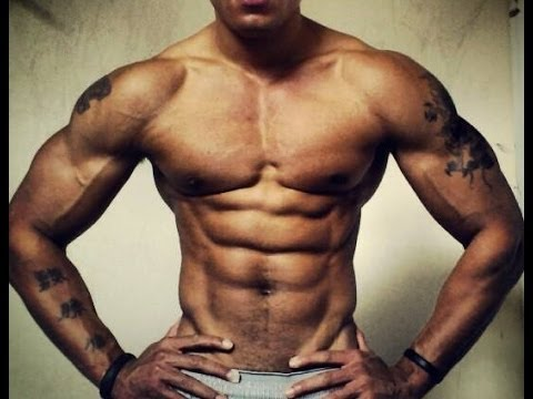 """NEW 15 min """"PSYCHO ABS WORKOUT"""" How to get a six 6 pack and burn belly fat FAST (Big Brandon Carter)"""