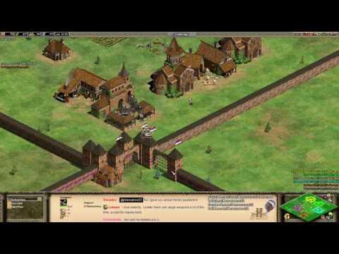 Aoe2 HD: Weird Arena Map Gen (Monk Rush)