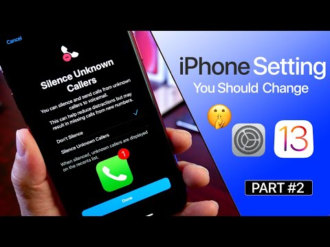 iPhone Setting You Should Change iOS 13