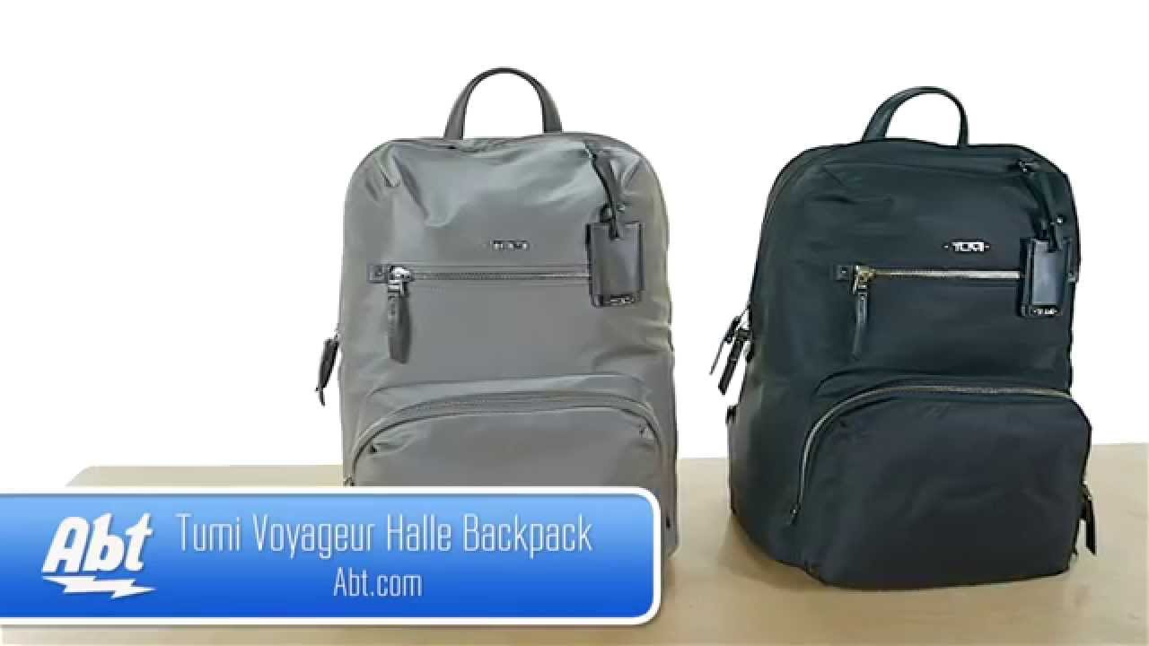 8fa395544 Tumi Voyageur Halle Backpack Overview - YouTube