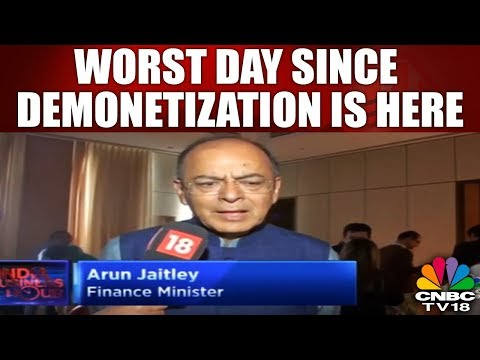 Worst Day Since Demonetization Is Here in the Market | INDIA BUSINESS HOURS | CNBC TV18