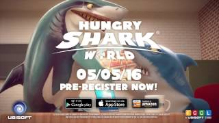Hungry Shark World - Announcement trailer(The stunning sequel to Hungry Shark™ Evolution will be back on 5th May. Pre-register now here : http://bit.ly/ubi-yt-hsw., 2016-04-21T16:00:00.000Z)