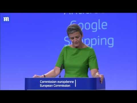 European Commissioner  'Google has abused its market dominance'