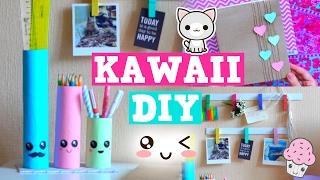 DIY KAWAII ✎ Снова В Школу: ШКОЛЬНЫЕ ПРИНАДЛЕЖНОСТИ, ОРГАНАЙЗЕРЫ Своими Руками ✎ Back To School