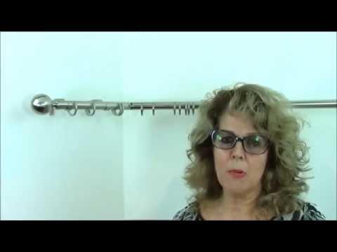 BAY WINDOW CURTAIN POLES - Youtube - Speedy Nikola Bay Pole