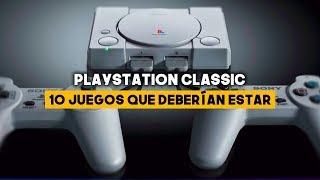 PLAYSTATION CLASSIC: 10 JUEGOS QUE DEBERÍA TENER
