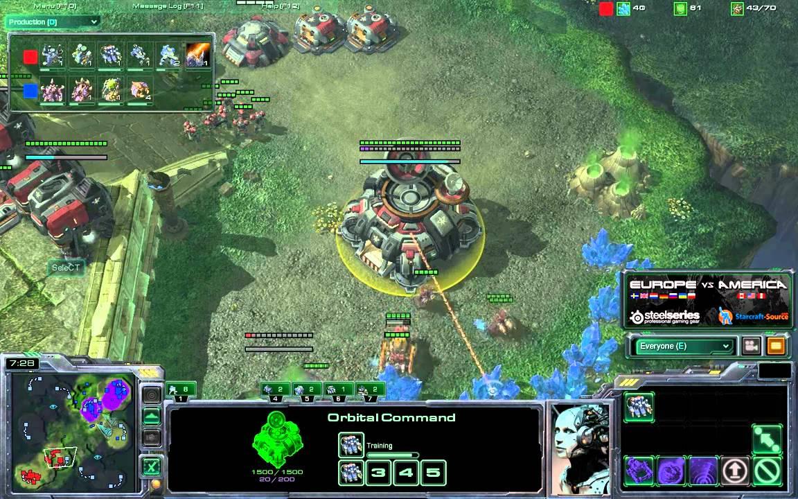 Liquidret Z Vs Select T G2 Eu America Starcraft 2