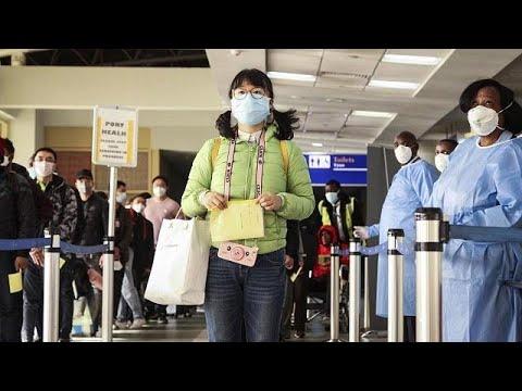 Coronavirus: contrôles à l'aéroport de Dakar