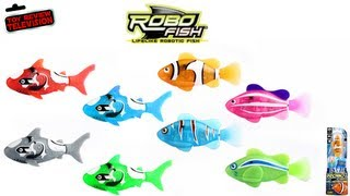 ROBO FISH Lifelike Robot Shark Swimming Pet Aquarium Toy Review Robotic Toys Family Video