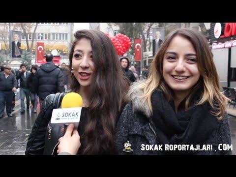 Sokak Röportajları - Bir ünlü Ile Evlenebilecek Olsanız, Bu ünlü Kim Olurdu?