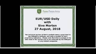 Forex Peace Army | Sive Morten EURUSD Daily 08.27.18