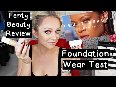 Fenty Beauty Foundation Wear Test & Other Products!