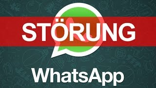 """Whatsapp ist nun schon ein paar stunden down und funktioniert nicht mehr, was sollen wir nur tun?! infos in den videos[achtung """"leichte satire""""]~ fo..."""
