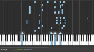 Still Alive piano tutorial (Song from Portal)