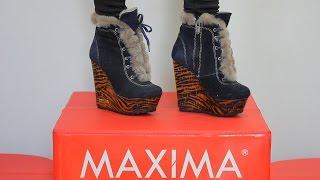 Обзор зимней коллекции ботинок размеров 33, 34, 35