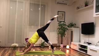 Első hatha jóga videóm - 40 perc