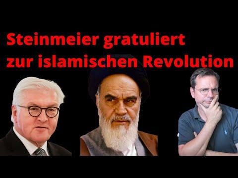 Steinmeier gratuliert Iran zur islamischen Revolution! Politische Koordinaten völlig verrutscht.